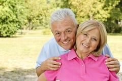 Glückliche Ältere Stockbilder
