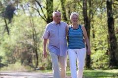 Glückliche Ältere Lizenzfreie Stockbilder
