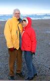 Glückliche ältere Paare Lizenzfreie Stockfotografie