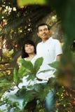 Glückliche asiatische Paare Stockfoto