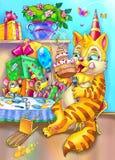 glückliche birhday Party Lizenzfreie Stockbilder