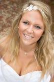 Glückliche blonde Frau Lizenzfreie Stockfotografie