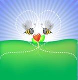 Glückliche Blume Stockfoto