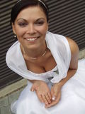 Glückliche Braut Lizenzfreie Stockbilder