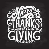Glückliche Danksagungsikone, -logo oder -ausweis Stockbild