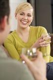 Glückliche Datierung Lizenzfreies Stockfoto