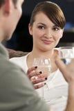 Glückliche Datierung Lizenzfreie Stockfotos