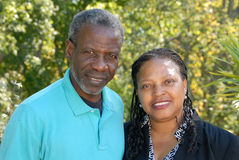 Glückliche fällige Paare Stockbild