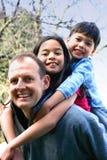 Glückliche Familie Lizenzfreie Stockbilder
