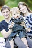 Glückliche Familie Lizenzfreie Stockfotografie