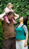 Glückliche Familie Lizenzfreie Stockfotos