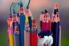 Glückliche Farbe Lizenzfreie Stockfotos