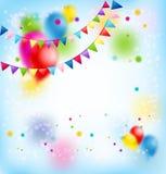 Glückliche Feiertags-Karte Stockbild
