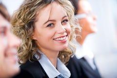Glückliche Frau Lizenzfreies Stockfoto