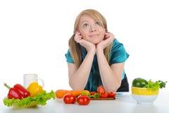 Glückliche Frauen in der Küche. Lizenzfreie Stockfotos
