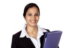 Glückliche Geschäftsfrau Lizenzfreies Stockbild