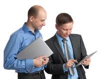 Glückliche Geschäftsleute Treffen Lizenzfreie Stockfotografie