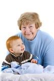 Glückliche Großmutter Lizenzfreies Stockfoto