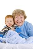 Glückliche Großmutter Lizenzfreie Stockfotos