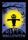 Glückliche Halloween-Abbildung Lizenzfreies Stockfoto