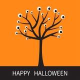 Glückliche Halloween-Karte Lizenzfreie Stockfotos