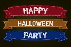 Glückliche Halloween-Partei Stockfotografie