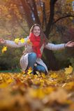 Glückliche Herbstzeit Lizenzfreies Stockfoto