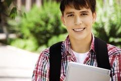 Glückliche Hochschule lizenzfreies stockbild