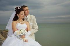 Glückliche Hochzeit Lizenzfreie Stockfotografie