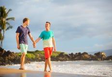 Glückliche homosexuelle Paare Lizenzfreies Stockbild