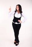 Glückliche junge Geschäftsfrau Lizenzfreie Stockbilder