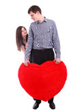 Glückliche junge Paare Stockfotos