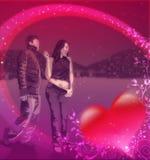 Glückliche junge Paare in der Liebe Stockfotos