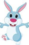 Glückliche Kaninchenkarikatur Stockbilder