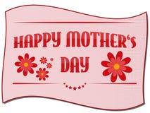 Glückliche Karte des Mutter Tages Stockbilder