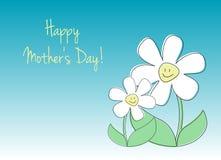 Glückliche Karte des Mutter Tages Lizenzfreies Stockbild