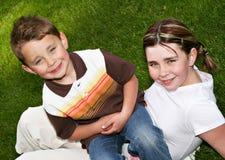 Glückliche Kinder Stockfoto