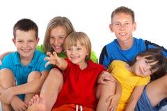 Glückliche Kinder Stockfotos