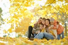 Glückliche lächelnde Familie lizenzfreies stockbild