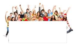 Glückliche Leute Lizenzfreies Stockfoto