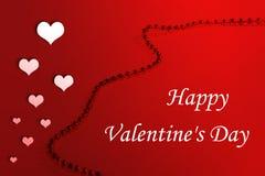 Glückliche Liebe des Valentinsgruß-s Day/I Sie Lizenzfreies Stockbild