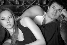 Glückliche liebevolle Paare stockfotografie