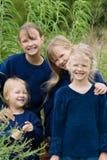 Glückliche Mädchen. lizenzfreie stockbilder
