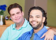 Glückliche männliche Freunde Lizenzfreies Stockfoto