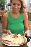 Glückliche Mahlzeit Lizenzfreie Stockfotografie