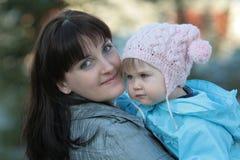 Glückliche Mama stockfoto