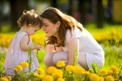Glückliche Mutter Lizenzfreies Stockfoto