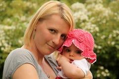 Glückliche Mutter stockfoto