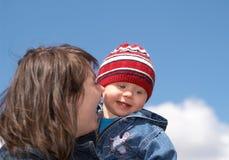 Glückliche Mutter lizenzfreie stockbilder