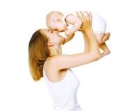 Glückliche Mutter und Baby Lizenzfreie Stockfotografie